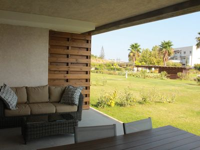 Photo for APARTMENT WITH GARDEN IN PRIVATE URBANIZATION WITH POOL. IDEAL FOR FAMILIES