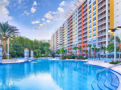 Photo for Vacation Village at Parkway, Orlando October 5 - 12, 2018, max occupancy 8