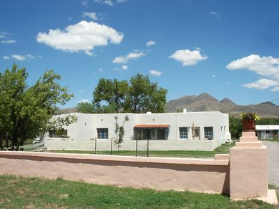 Photo for Historic Ranch Adobe 3 BR/2 BA Home on Private Ranch