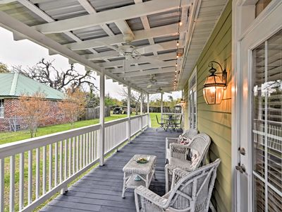 Photo for Cozy Pass Christian House w/Porch Steps From Beach