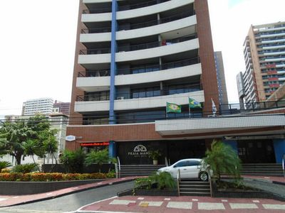 Photo for Strengthen. Excellent Flat with sea front view (behind the Feira Beira Mar)