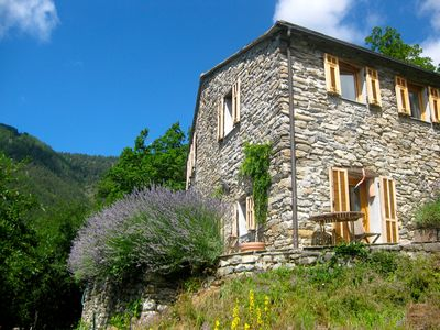 Photo for Beautiful mountain house on a beautiful spot in nature with several terraces.
