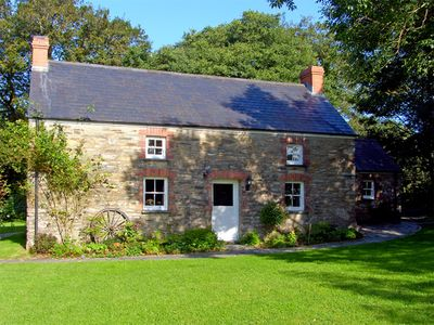 Photo for PENLANFACH FARMHOUSE, family friendly in Crymych, Ref 2021
