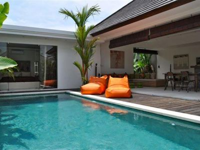 Photo for CHARMING VILLA 2 STEPS FROM SEMINYAK: PRIVATE POOL 10M x 3M, TV, WIFI