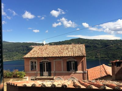 Photo for Genzano di Roma, lake view from the ancient village.