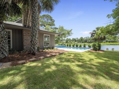 Photo for 17 Port Tack - Enchanting 3 Bedroom home, Private Pool, Lagoon & Golf Views