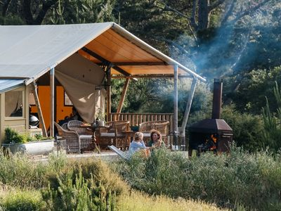 Photo for Luxury Glamping over looking the Maraetotara river