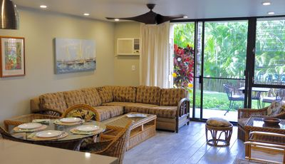 Photo for Kamaole Sands 3 Bdrm Ground Floor End Unit Nestled in the Lush Inner Gardens