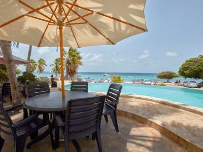 Photo for Steps away fromt he ocean and Aruba's best snorkeling beach!
