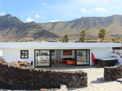 Photo for Holiday house Urbanización Famara for 1 - 8 persons with 4 bedrooms - Holiday home