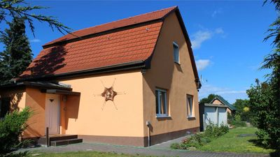 Photo for This family-friendly vacation rental in Falkensee near Berlin
