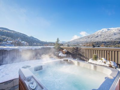 Photo for Stunning SLOPESIDE 1 Bedroom Suite with Private Balcony and Hot Tub!!!
