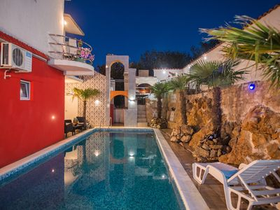 Photo for Villa with pool in historic Sibenik