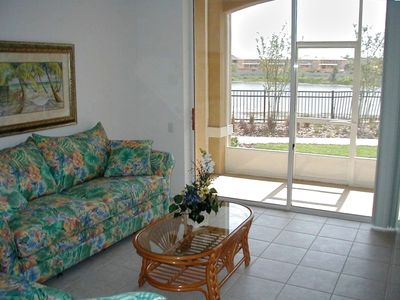 Privacy of a corner unit, with great lake front view!