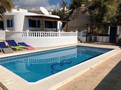 Photo for Villa with pool, sea views, wifi and air conditioning.