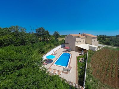 Photo for modern and are looking for family holiday villa with a large outdoor swimming pool