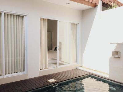 Photo for Sophisticticated villa with private pool in Canggu