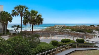 Photo for Beachside Villas 623- Steps away from the Gulf