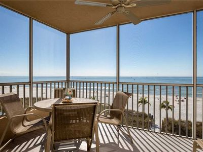 Photo for Estero Island Beach Villas 401, 2 Bedrooms, Beach Front, WiFi, Sleeps 6