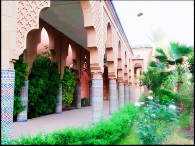 Photo for Heart Of Marrakech & 3 BEDROOMS & 3 Swimming Pools