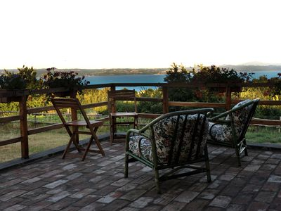 Photo for Farmhouse with private pool and Jacuzzi, with a splendid view of Lake Bolsena