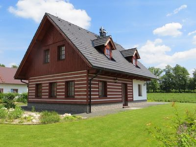 Photo for Detached, cozy cottage with private pool near ski resorts Cerny Dul