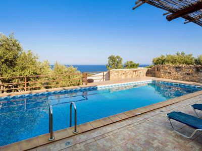 Photo for Villa Kimothoe w/Private Pool, only 10 km to famous Elafonissi Beach. Sea views