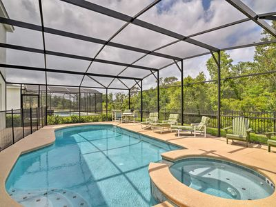 Photo for Spacious BellaVida Retreat w/Pool, 8 Mi to Disney!