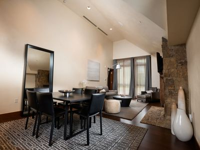 Photo for 5-Star, One Bedroom + Den Penthouse Unit located in Vail Village