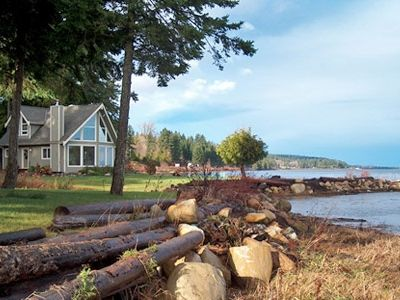 Photo for Open Design West Coast Home on 1600 Feet of Private Waterfront