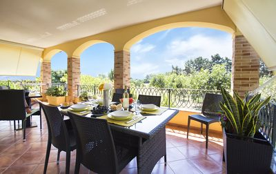 Photo for Alghero Villa Mistral, for 7 persons, Terrace, BBQ, Air Conditioning, WiFi