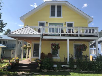 Photo for Sunlit, Cozy Townhome in Town sleeps 8!