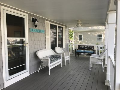Photo for JULY 6 WEEK DISCOUNT!/GREAT BEACH HOUSE/ STEPS TO BEACH/BIKES INCLUDED.