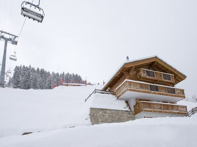 Photo for Luxurious Contemporary Ski In Ski Out, 4 Valleys Chalet with Breathtaking Views