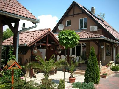 Photo for House Balatonszemes for 4 - 8 people with 2 bedrooms - Holiday home