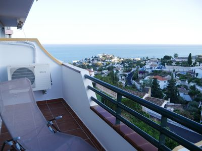 Photo for Fantastic apartment with spectacular sea views, German care
