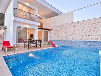 Photo for Kaş Cukurbag 2 Bedroom Villa. this villa is an opportunity for our guests who want to make a holiday only for relaxation against the mountain view, far away from the noise of the city