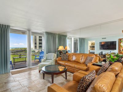 Photo for Shoreline Towers 1022 - Beachfront unit has with the comforts of home !!!