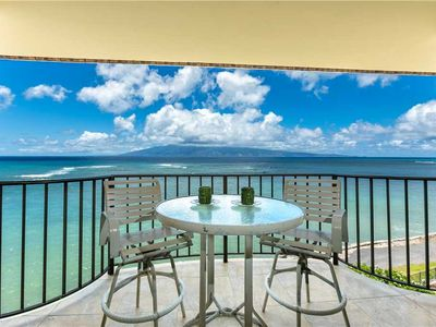 Photo for Completely remodeled Ocean Front condo at Kahana Reef #401