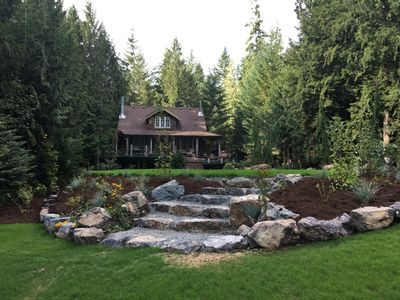 Photo for New Listing! Informal down home cottage on beautiful Lake Cowichan