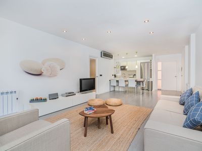 Photo for 2-bedroom apartment near the beach in Puerto Pollensa