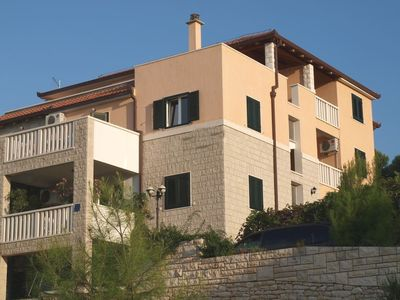 Photo for Apartments Sonja, (10138), Postira, island of Brac, Croatia