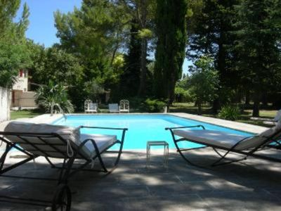 Photo for LA VIEILLE CHAPELLE - Provence Studio with Pool, Lg Garden, Peace, Quiet