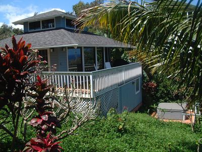 Photo for Romantic Cottage Private, Hot Tub, Ocean Views and Secluded Beach