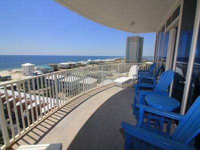 Photo for Beautiful 3 BD 3 BA Gulf Front View With Across The Street Price. SUGAR SANDS LT#901