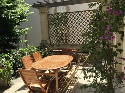 Photo for 8eme Carré d'Or - Superb apartment with terrace and private garden