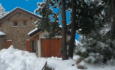 Photo for Chalet in Font-Romeu, exceptional view, tastefully decorated