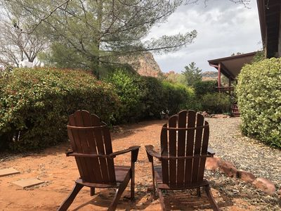 Photo for REDUCED RATES IN  SEDONA WITH MAGICAL RED ROCK VIEWS AND SHORT  WALK TO TRAILS
