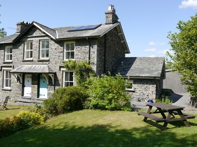 Photo for Idyllic, traditional 3 bedroom Lakeland Cottage close to Hawkshead