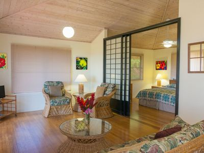 Photo for Great value at Poipu Beach with A/C, WIFI,no fees, quiet private beach community